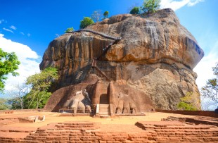 SIGIRIYA ROCK, A UNESCO WORLD HERITAGE SITE copy